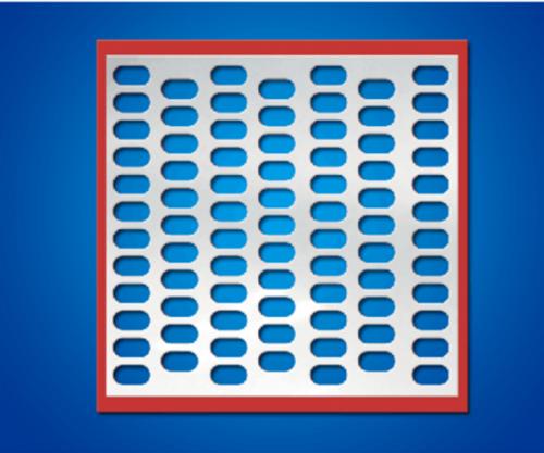 聚氨酯不锈钢包边筛板